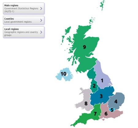 Do testów wybrano respondentów z Wielkiej Brytanii.